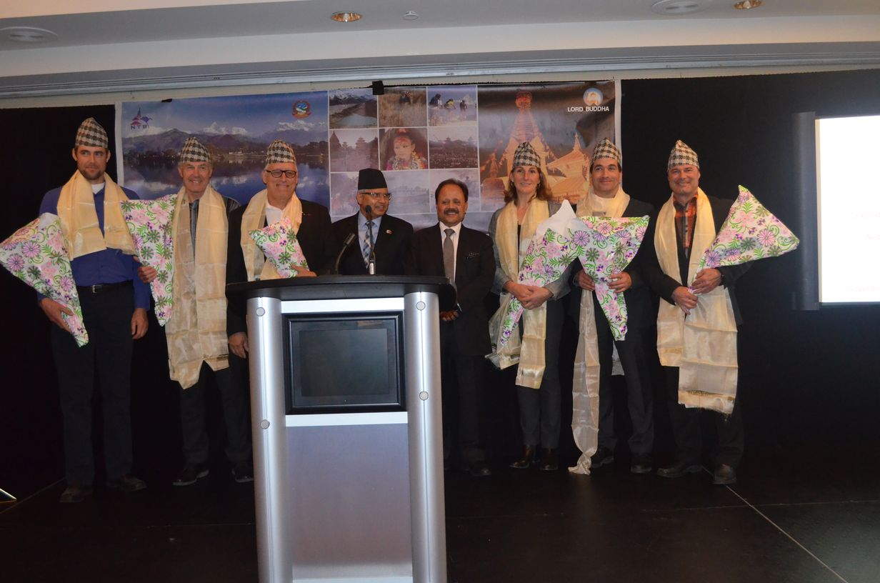 Embassy of Nepal Felicitates Mt. Everest Summiteers in Montreal