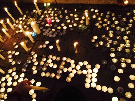 Candlelight Vigil held in Montreal for Nepal's Earthquake Victims
