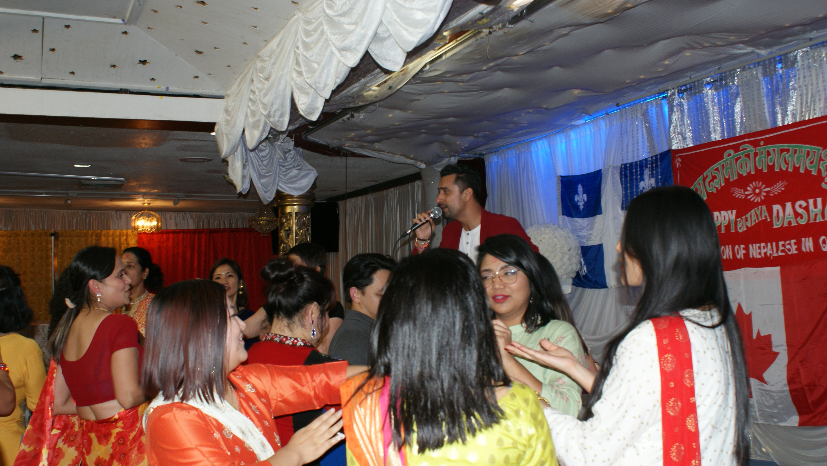Dashain 2076 Celebrated in Montreal